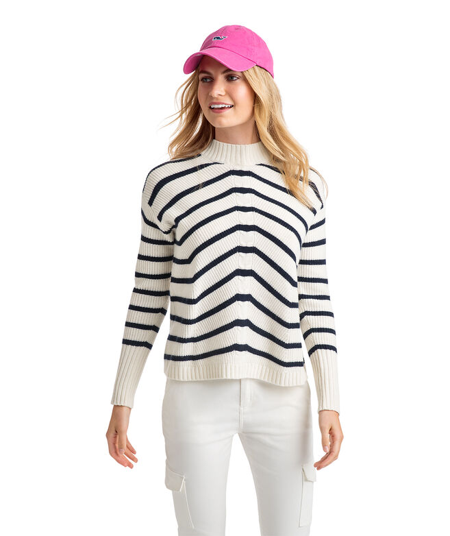 Striped Fisherman Sweater