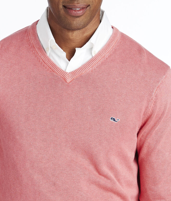 Saltwater V-Neck Sweater