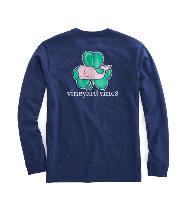 4c5bcd445 Shop Long-Sleeve Whale Shamrock T-Shirt at vineyard vines