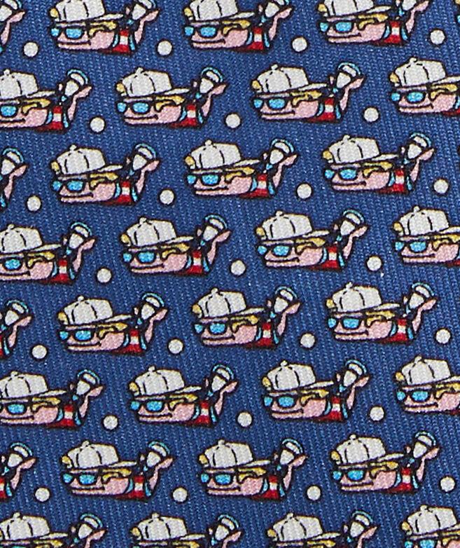 Boys' Lax Bro Whale Printed Tie