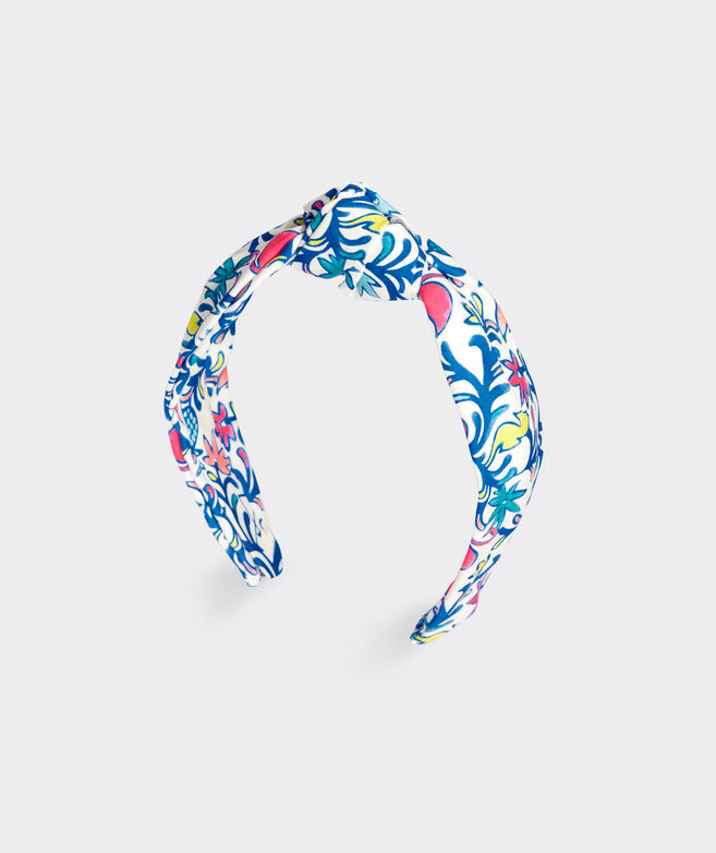 Floral Flamingos Headband