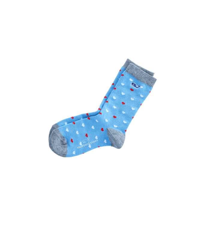 Boys Valentine's Day Heart Icon Socks