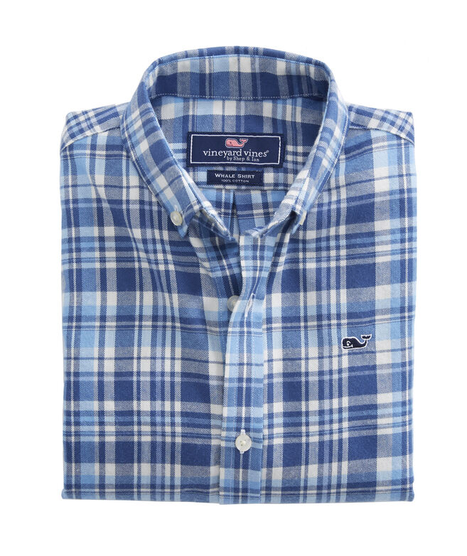 Boys Mill Hill Flannel Whale Shirt