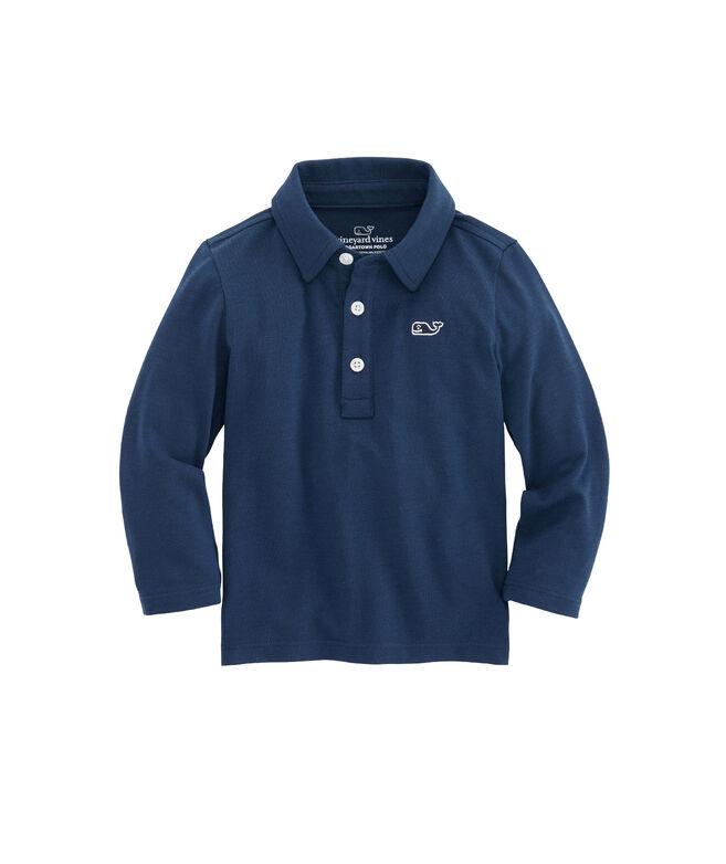 Baby Boys Long-Sleeve Edgartown Polo (12-24 MO)