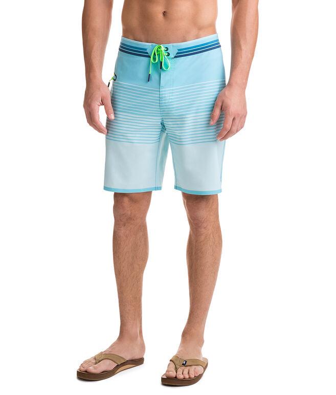 Sculplin Stripe Tech Board Shorts