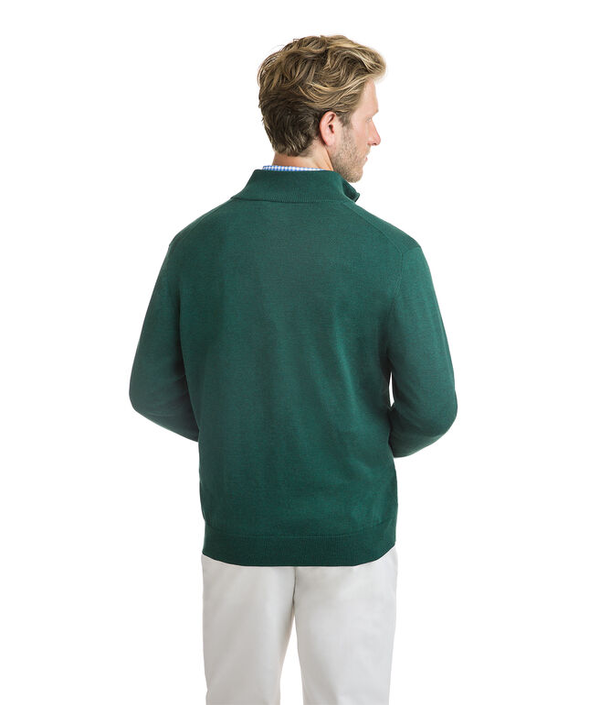 Cotton 1/4-Zip