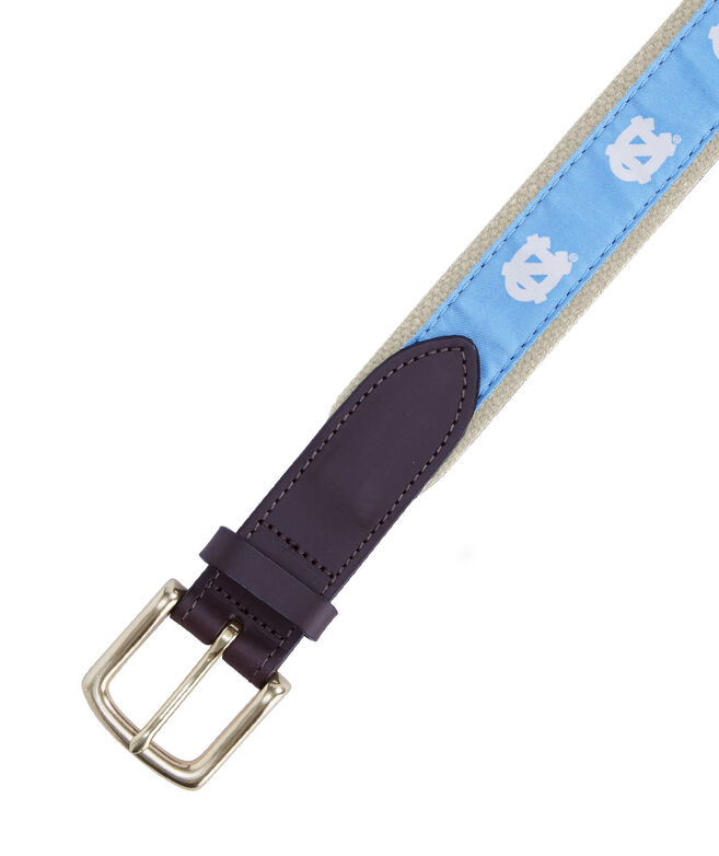 UNC Canvas Club Belt