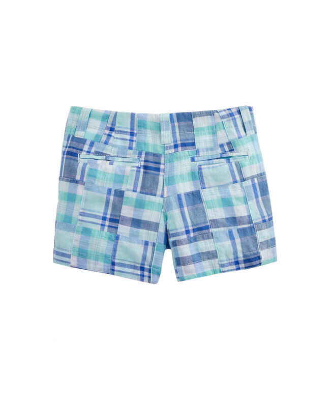 Girls Madras Every Day Shorts
