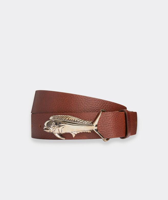 Mahi Buckle Leather Belt