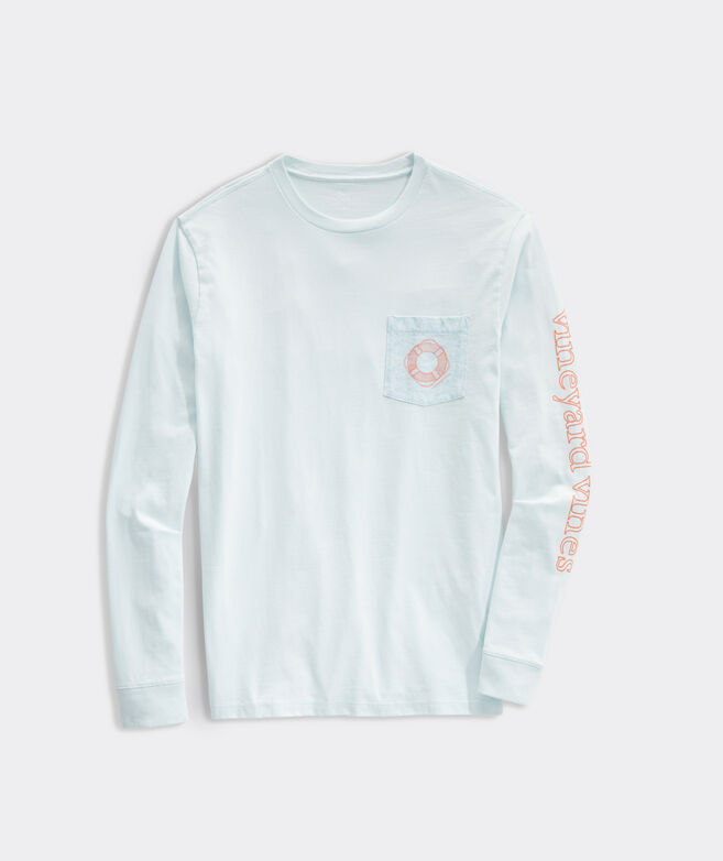 Topograph Lifesavers Long-Sleeve Pocket Tee