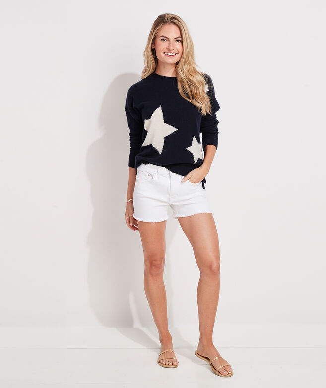 Lofty Cashmere Star Sweater