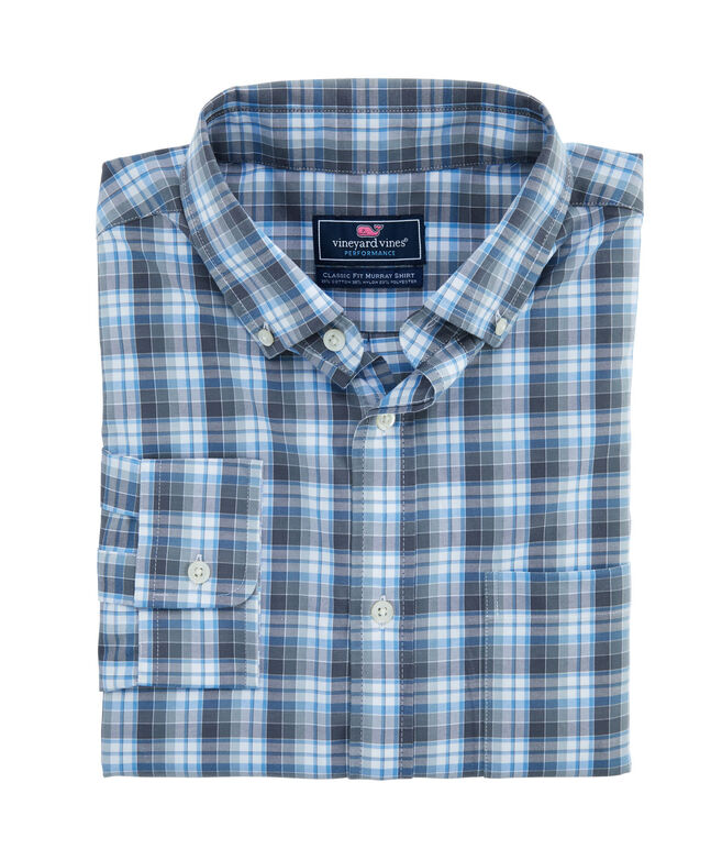 Classic Fit Darvo Cotton Performance Murray Shirt