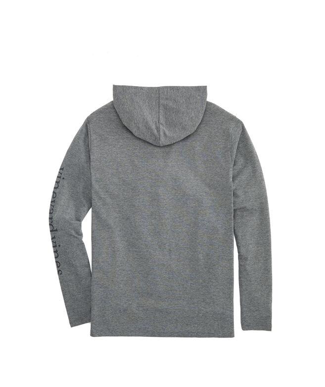 Edgartown Whale Long-Sleeve Hoodie T-Shirt