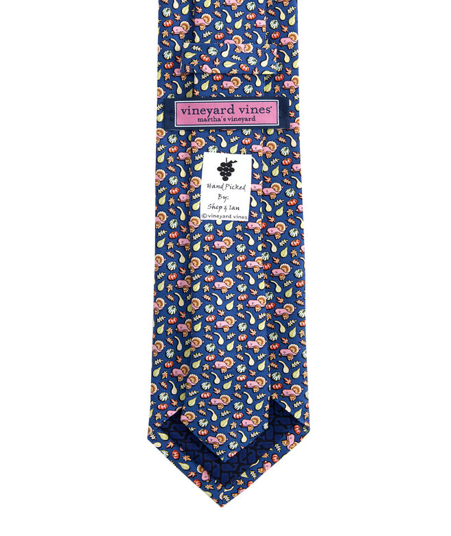 Gourds & Turkey Printed Tie