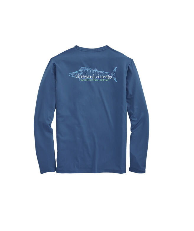 Long-Sleeve Performance Catch & Release T-Shirt