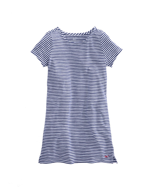 Girls Stripe T-Shirt Dress
