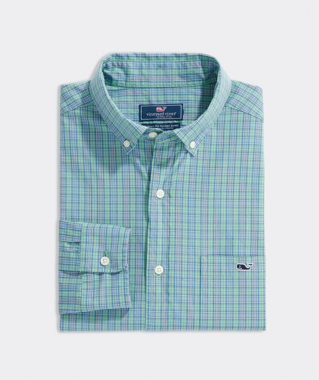 Slim Fit Masthead Poplin Tucker Button-Down Shirt