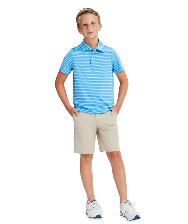 Boys' Range Stripe Sankaty Polo