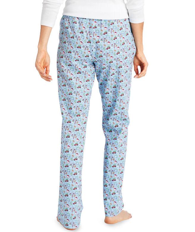 Holiday Print Pajama Pants