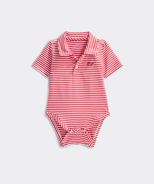 Short-Sleeve Winstead Stripe Sankaty Performance Polo One Piece