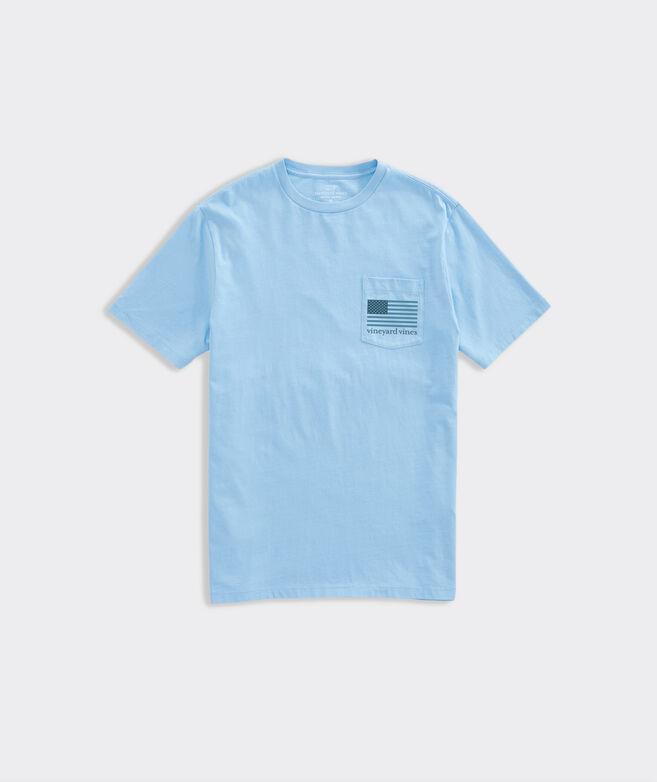 Limited-Edition USA Tonal Flag Short-Sleeve Pocket Tee
