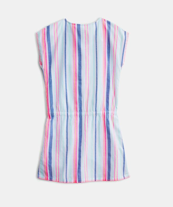 Girls' Boca Grande Stripe Cover-Up