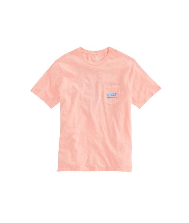 Slub Painted Tarpon Pocket T-Shirt