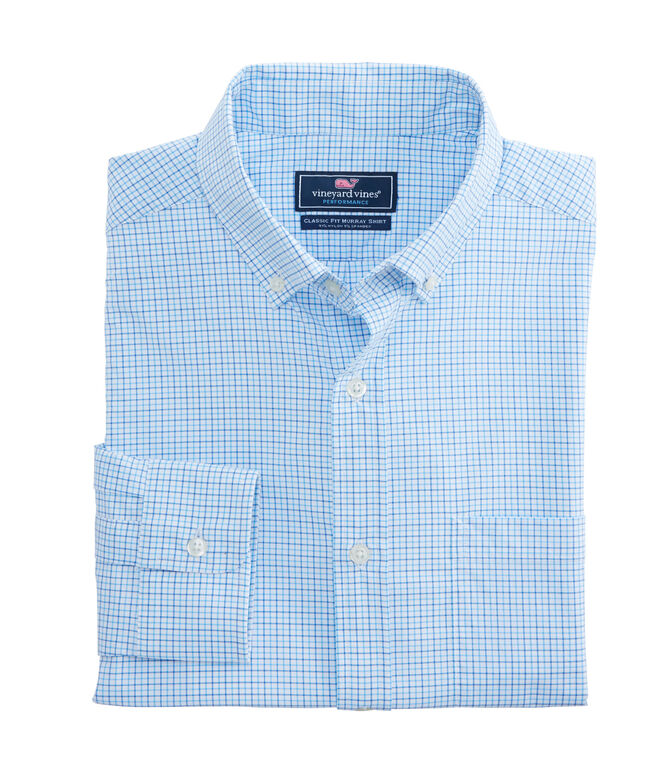 The Taylor Check Performance Classic Murray Shirt