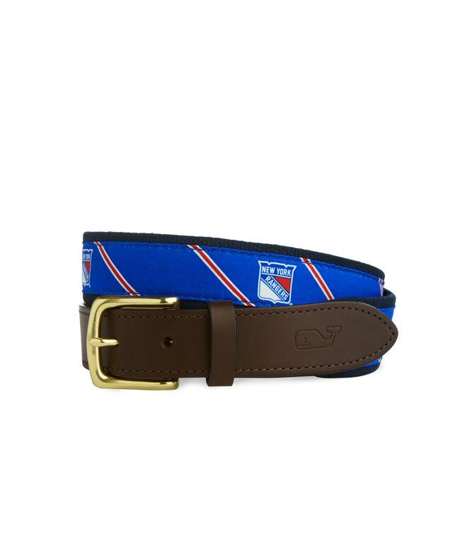 New York Rangers Boys Belt