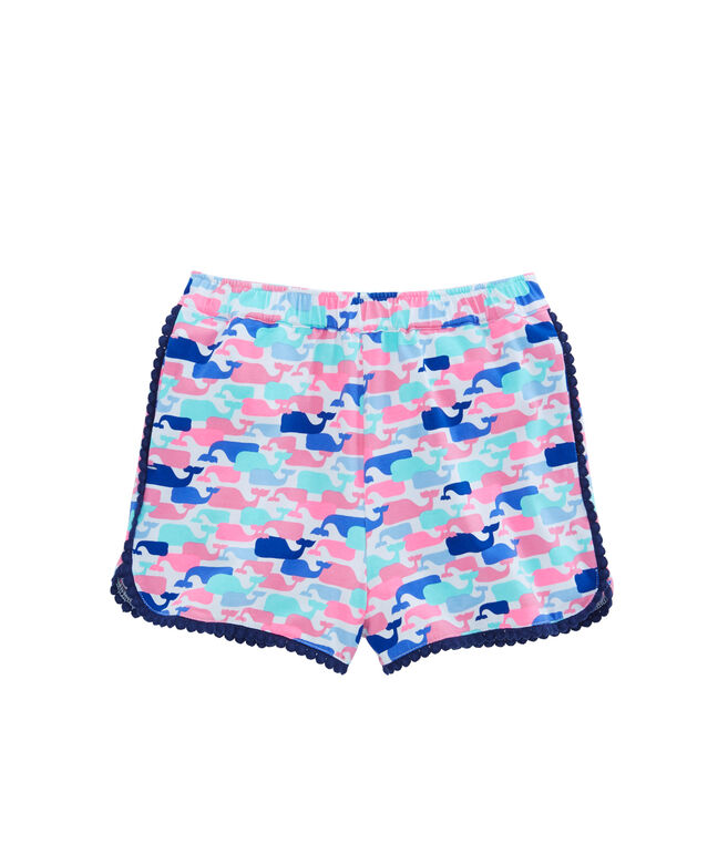 Girls Multi Whale Pull On Shorts