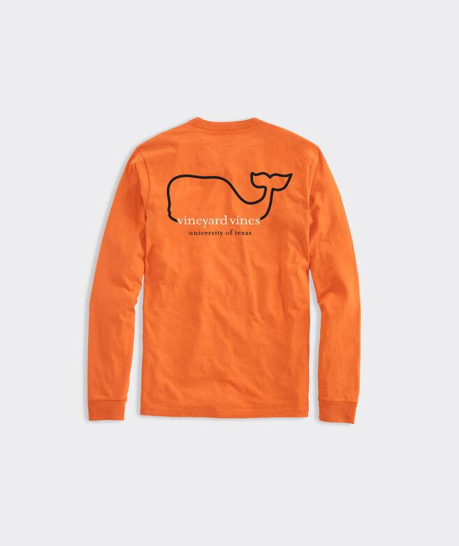 Adult University Of Texas Whale Long-Sleeve Tee