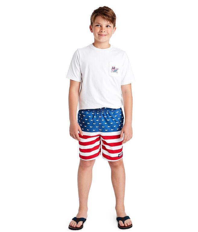 Boys USA Chappy Trunks