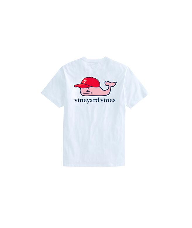 Kids Philadelphia Phillies Baseball Cap Pocket T-Shirt