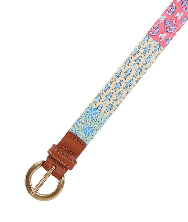 Heritage Original Patchwork Silk Belt