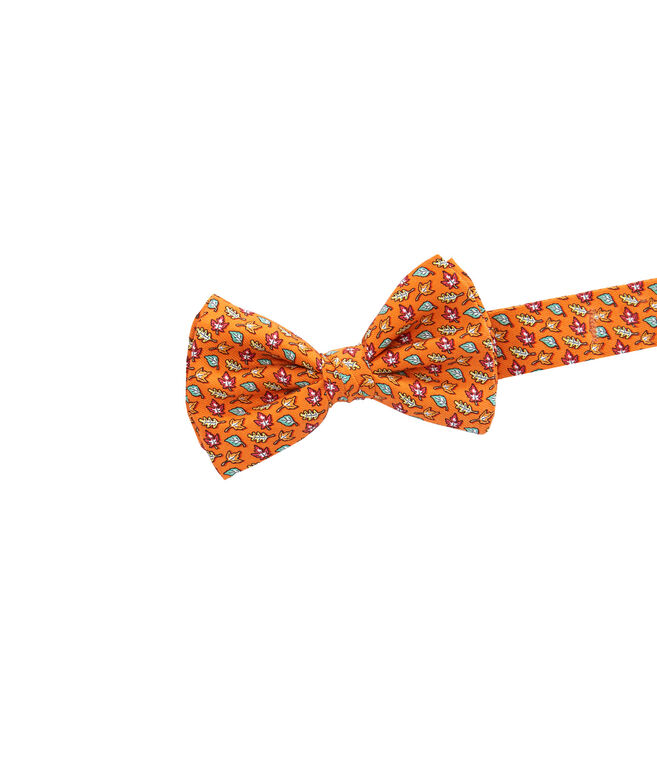 Boys Fall Leaves Bow Tie
