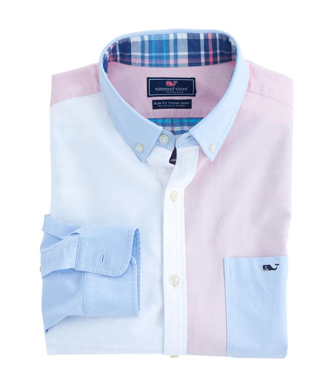 Party Oxford Slim Tucker Shirt