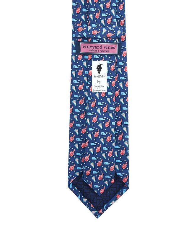 Lacrosse Fan Tie