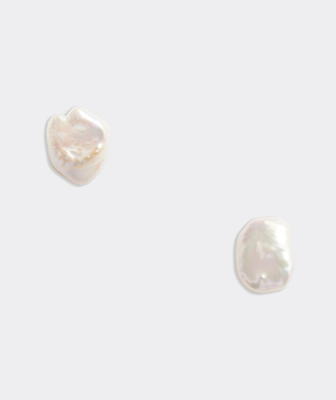 Baroque Pearl Stud Earring