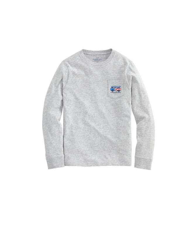 Boys USA Bus & Board Long-Sleeve T-Shirt