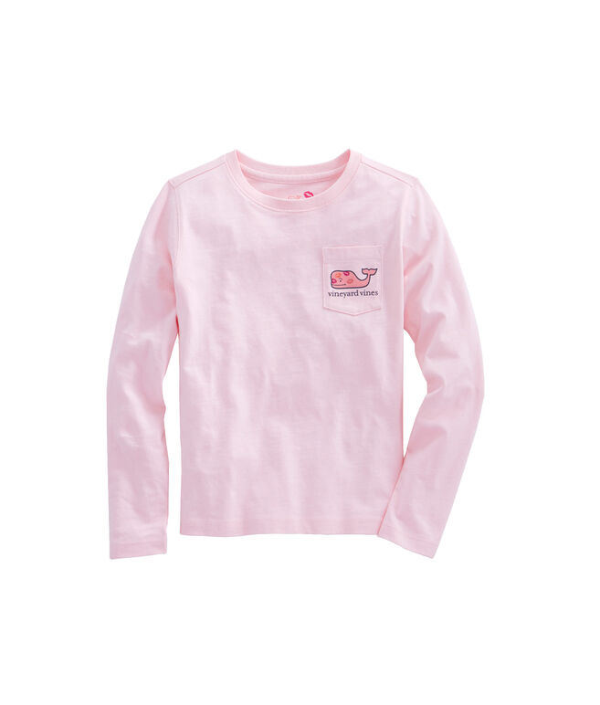 Girls Long-Sleeve Love Whale Tee