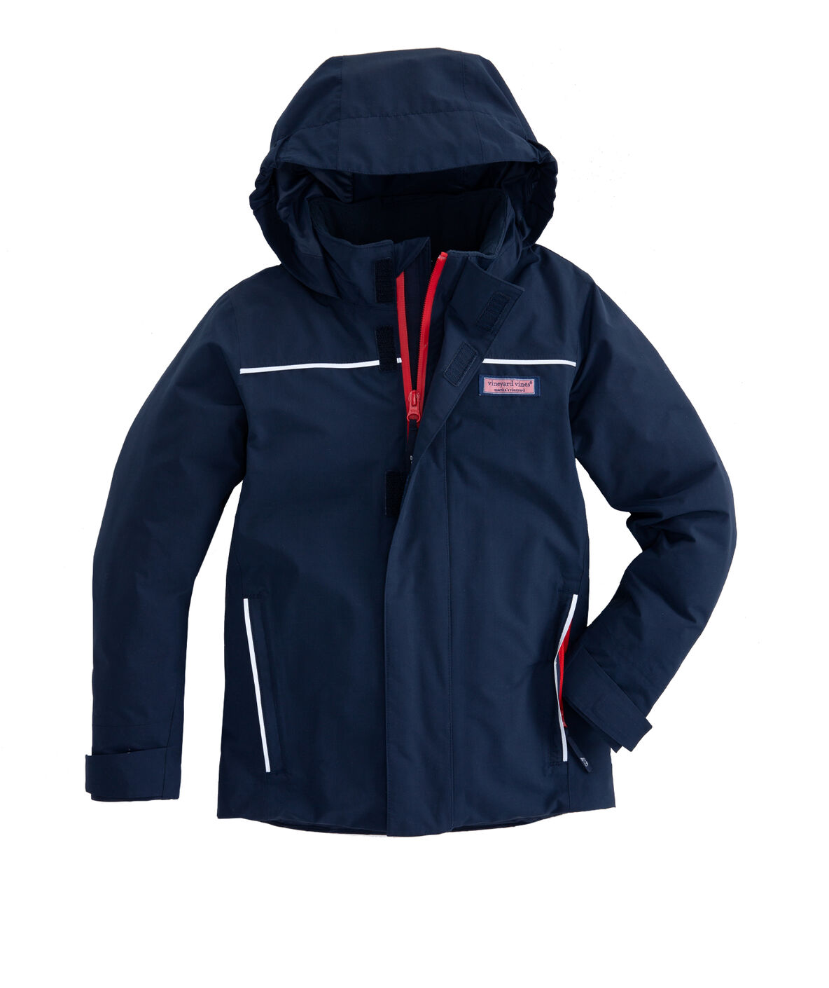 Shop Boys Nor Easter Puffer Jacket At Vineyard Vines