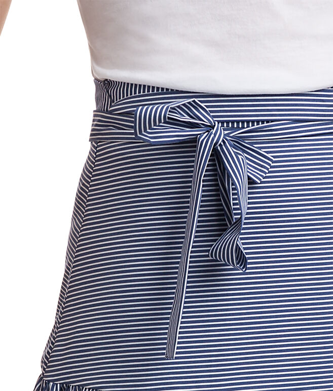 Shirting Stripe Woven Skirt