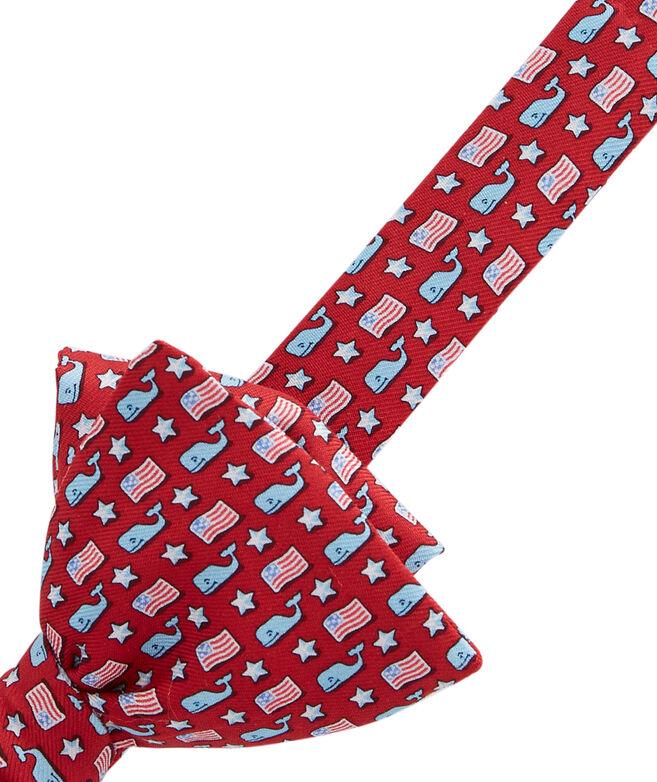 Whale & Flag Bow Tie