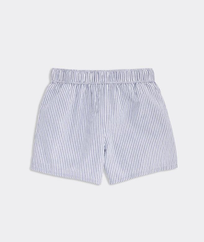 Girls' Sparkler Stripe Embroidered Shorts