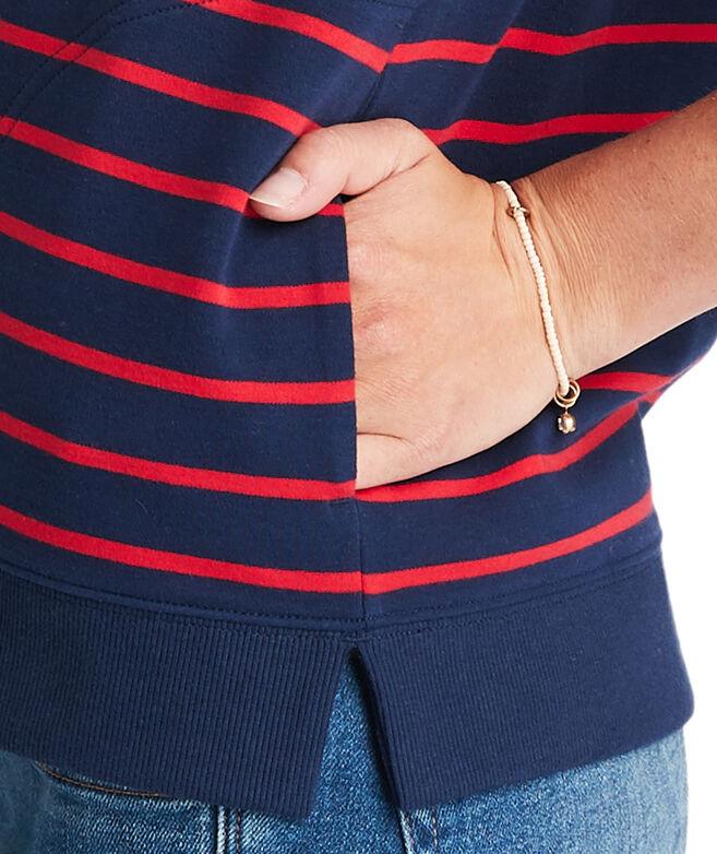 Break Stripe Hoodie Shep Shirt