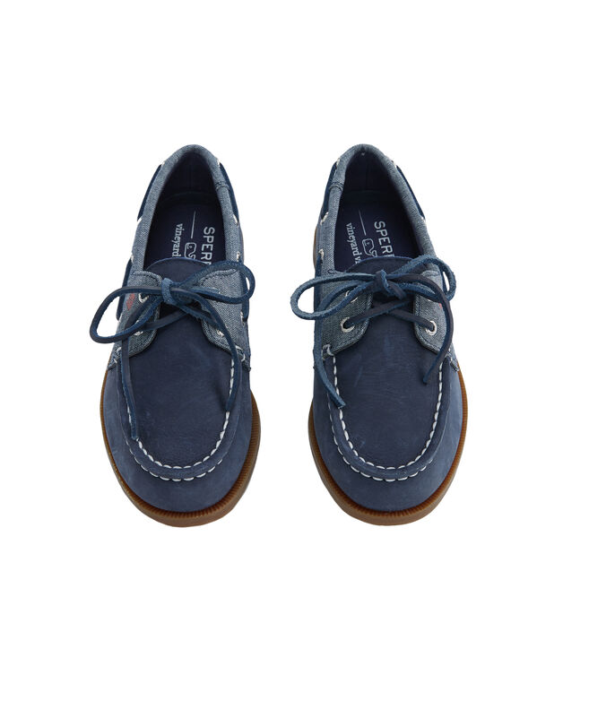 Big Kid's Sperry x vineyard vines Authentic Original Boat Shoe