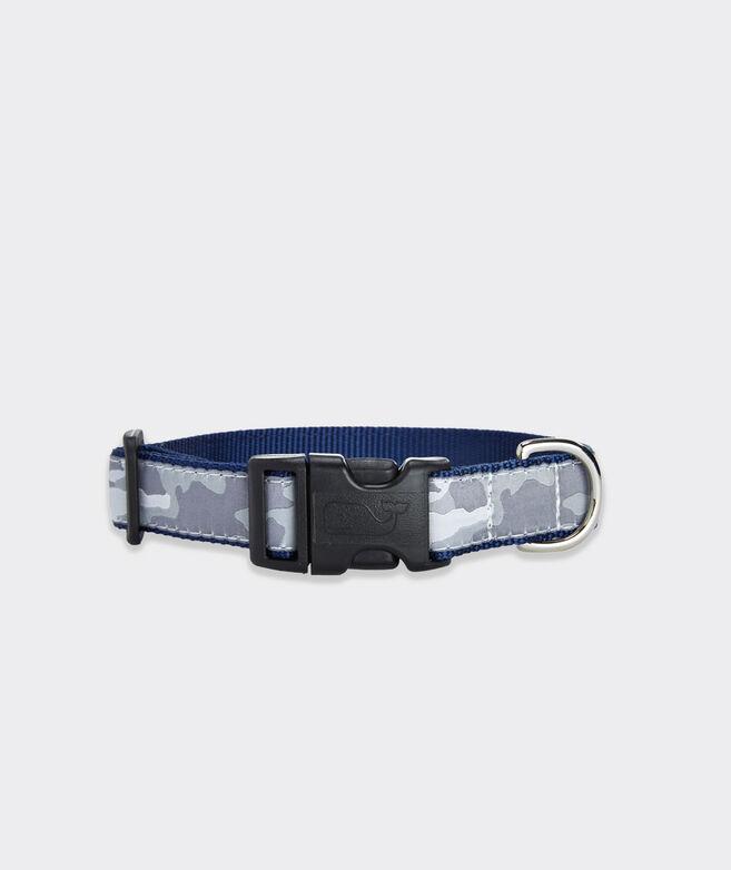 Gray Camo Dog Collar