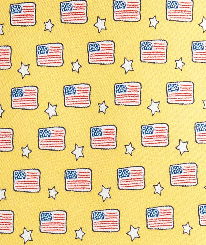 Flags & Stars Tie
