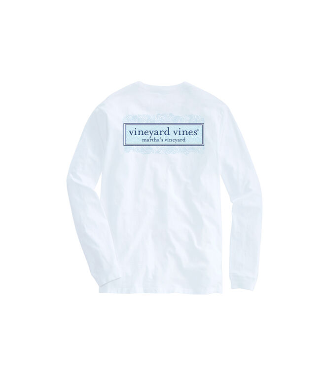 Topography Box Long-Sleeve Pocket Tee