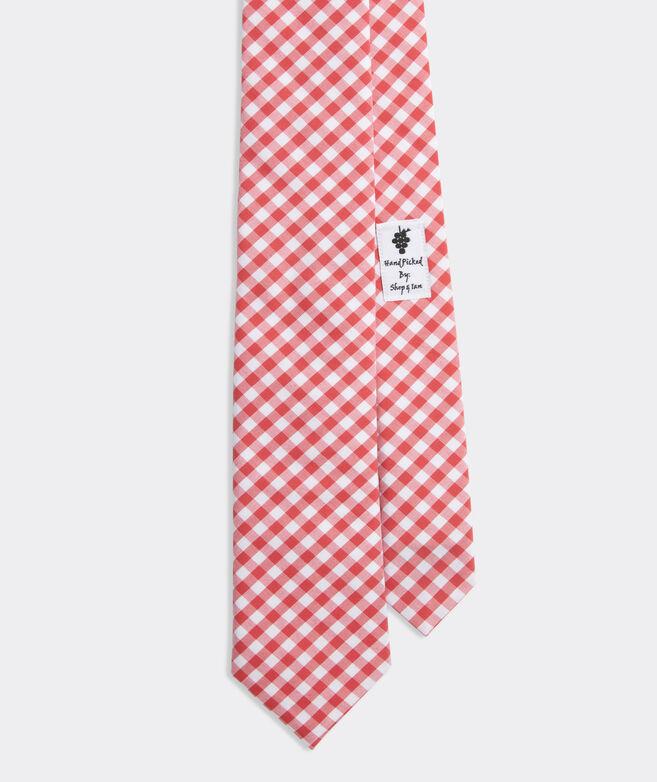 Gingham Kennedy Tie